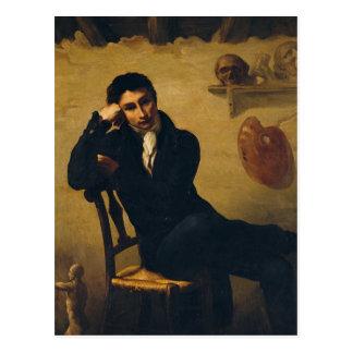 Carte Postale Portrait d'un artiste dans son studio