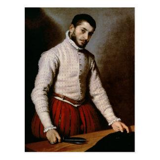 Carte Postale Portrait d'un homme c.1570