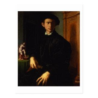 Carte Postale Portrait d'un jeune homme, c.1532-40 (huile sur le