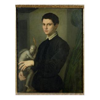 Carte Postale Portrait d'un sculpteur