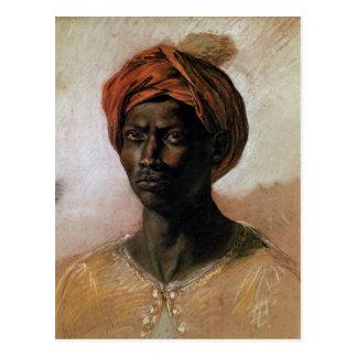 Carte Postale Portrait d'un Turc dans un turban, c.1826
