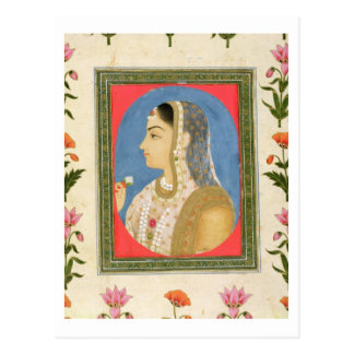Carte Postale Portrait d'une dame noble, de la petite aube de