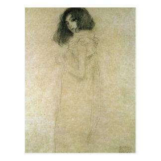 Carte Postale Portrait d'une jeune femme, 1896-97
