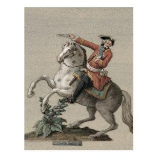 Carte Postale Portrait équestre de prince Charles