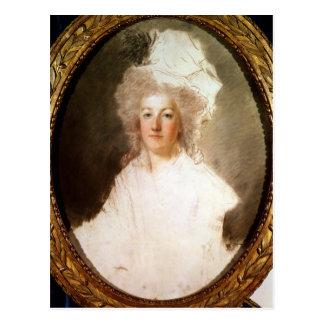 Carte Postale Portrait non fini de Marie-Antoinette