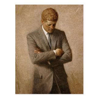 Carte Postale Portrait officiel de la Maison Blanche de John F.
