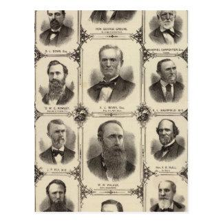 Carte Postale Portraits des citoyens de Cedar Rapids