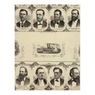Carte Postale Portraits des citoyens du comté de Cass