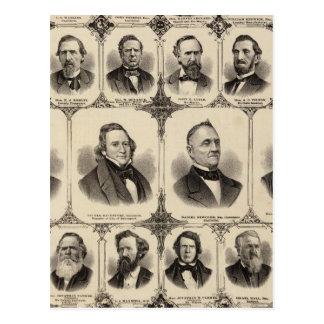 Carte Postale Portraits des citoyens du comté de Scott
