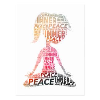 Carte Postale Positif intérieur de Paix-séjour