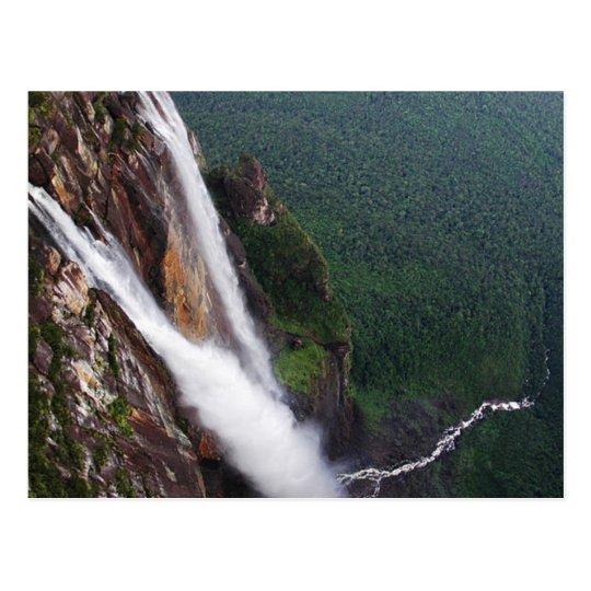 Carte Postale Postcard Angel Falls, Venezuela