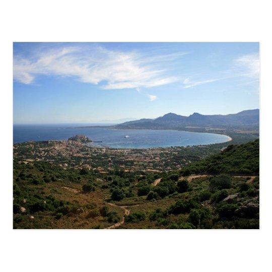 Carte Postale Postcard Bay of Calvi, Corsica, France
