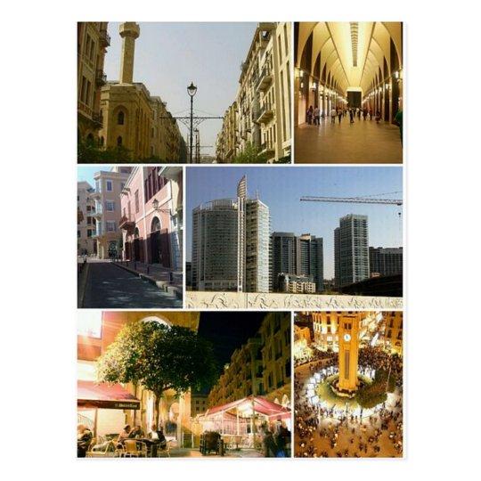 Carte Postale Postcard Beirut Central District, Lebanon