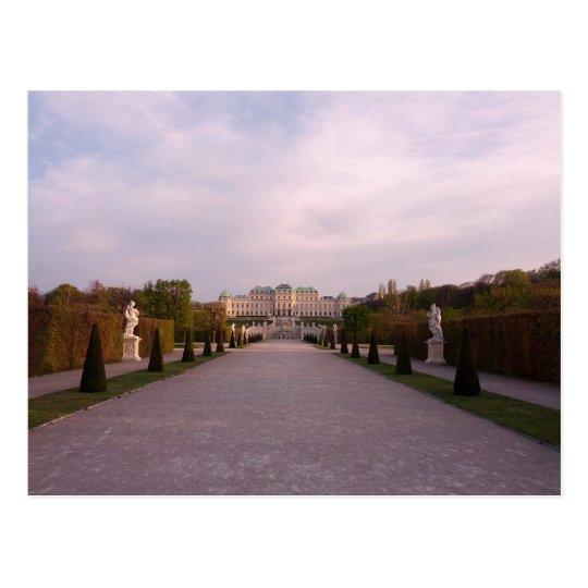 Carte Postale Postcard Belvedere Gardens Palace Vienna, Austria