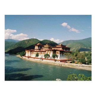 Carte Postale Postcard Bhutan, Punakha Dzong