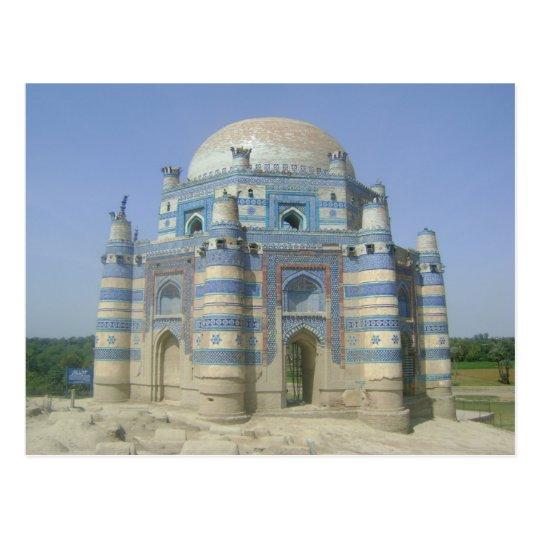 Carte Postale Postcard - Bibi Jawindi, Pakistan