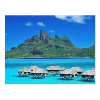 Carte Postale Postcard Bora Bora, Sous-Le-Vent, French Polynesia