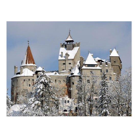 Carte Postale Postcard Bran Castle, Transylvania, Romania