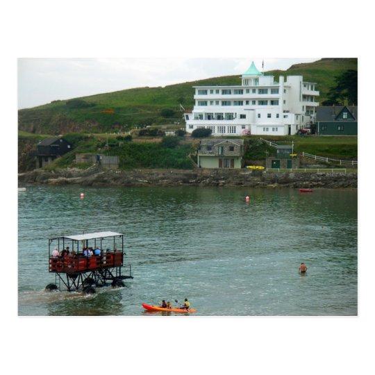 Carte Postale Postcard Burgh Island Hotel, Devon, England