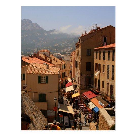 Carte Postale Postcard Calvi Town, Corsica Island, France