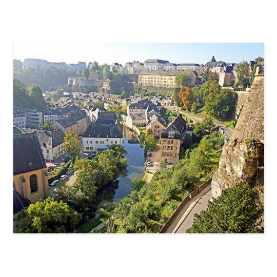 Carte Postale Postcard Chemin de la Corniche - Luxembourg