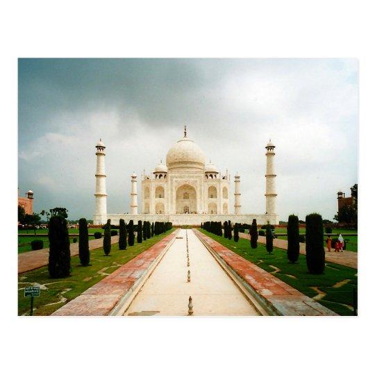 Carte Postale Postcard En Route to Taj Mahal, Agra, India