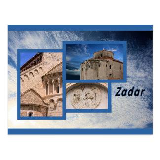 Carte Postale postcard for Zadar, Croatia