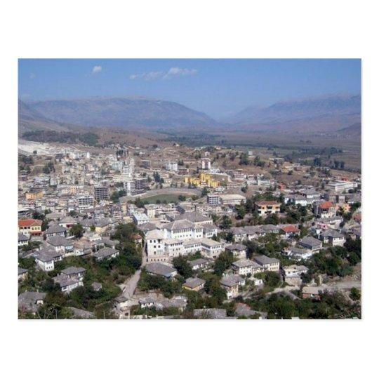 Carte Postale Postcard Gjirokastra in Southern Albania
