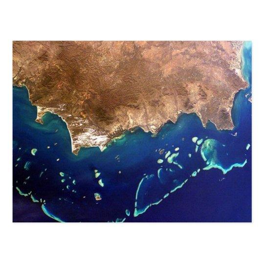 Carte Postale Postcard Great Barrier Reef, Australia