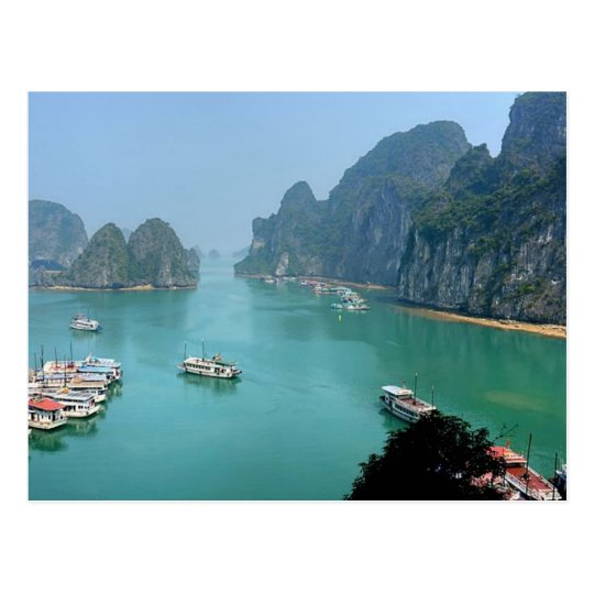Carte Postale Postcard Ha Long Bay in Quảng Ninh, Vietnam