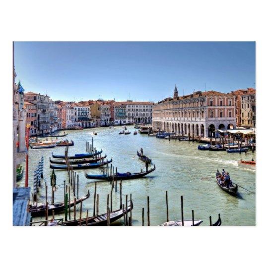 Carte Postale Postcard Hotel Sagrado, Venice Italy