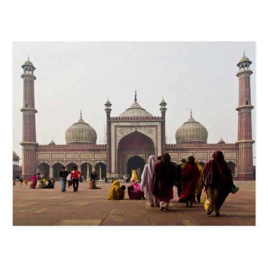 Carte Postale Postcard Jami Masjid in New Delhi. India