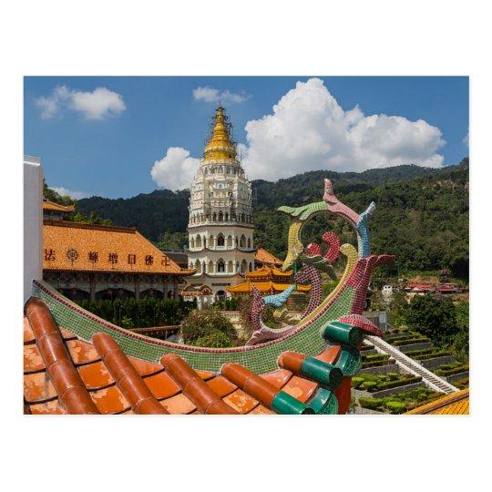 Carte Postale Postcard Kek Lok Si in Penang, Malaysia