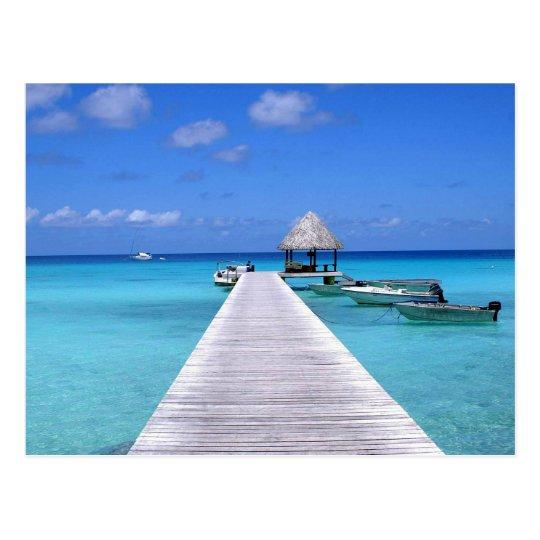 Carte Postale Postcard Kia Ora, Rangiroa Atoll  French Polynesia