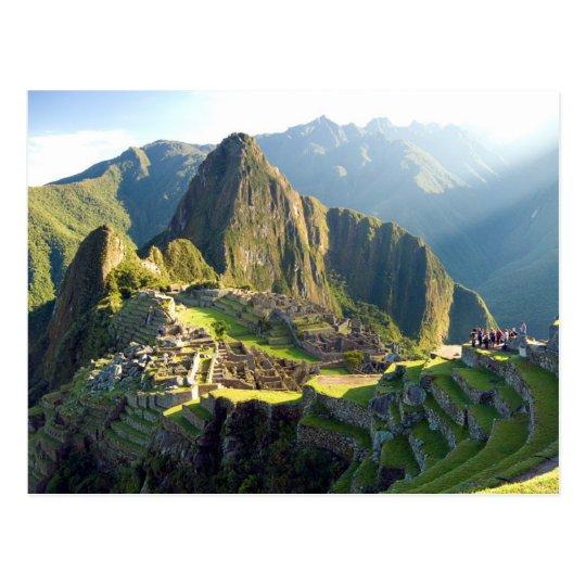 Carte Postale Postcard Machu Picchu, Peru