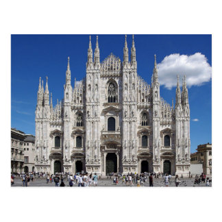 Carte Postale Postcard Milan Cathedral, Piazza Duomo, Italy