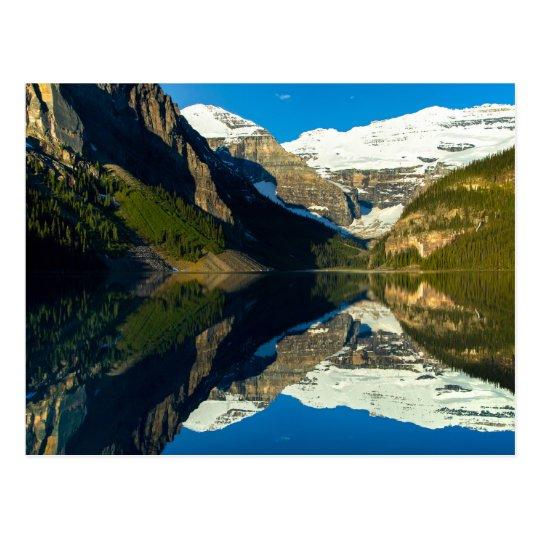 Carte Postale Postcard Mirror Lake Louise, Alberta Canada