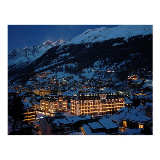 Carte Postale Postcard Mont Cervin Palace, Zermatt, Switzerland