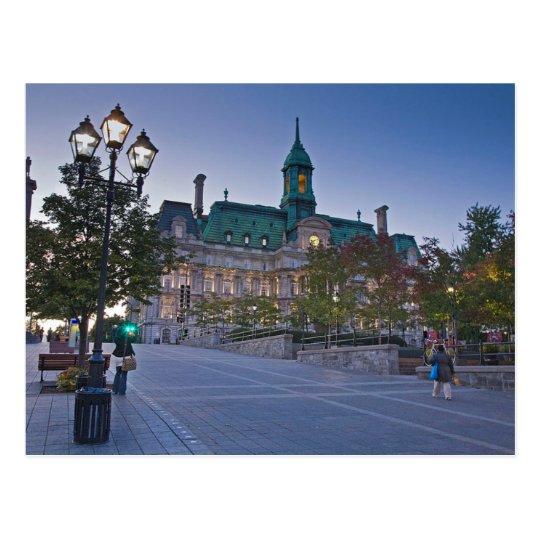 Carte Postale Postcard Montreal (Canada) Town Hall