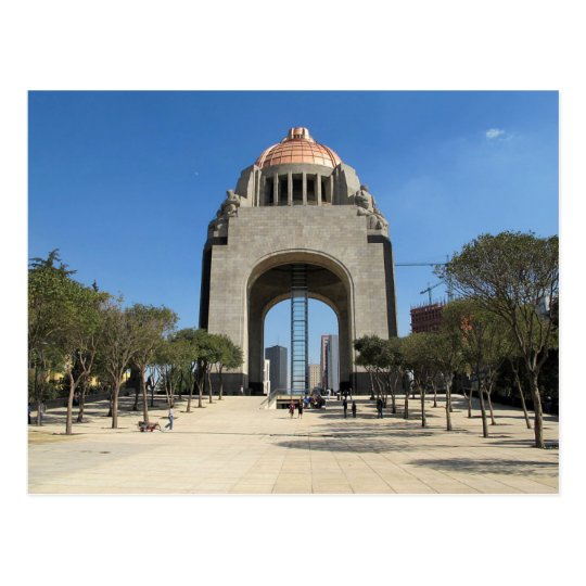 Carte Postale Postcard Monument to the Revolution, Mexico City