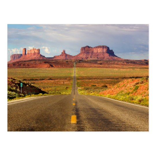 Carte Postale Postcard  Monument Valley Utah ~the Navajo Nation