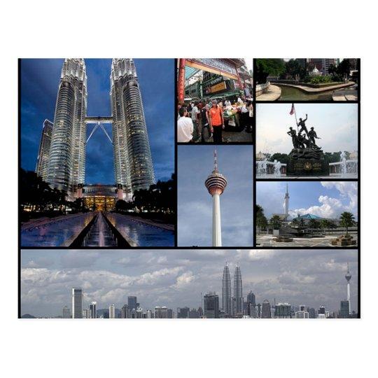Carte Postale Postcard Monuments Of Kuala Lumpur, Malaysia