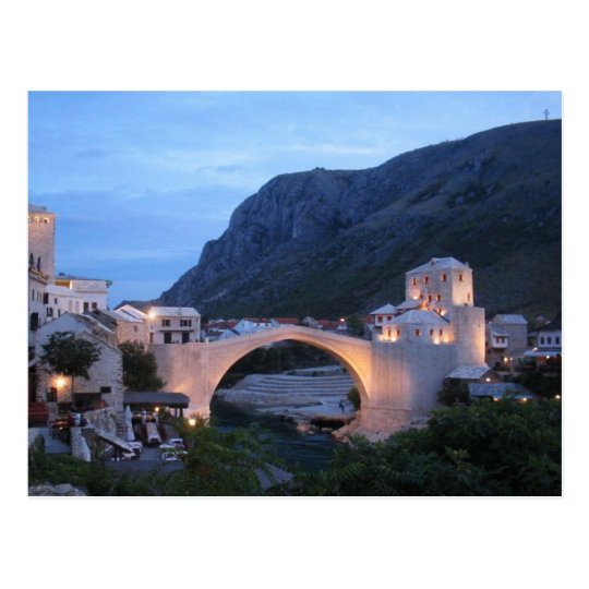 Carte Postale Postcard Mostar, Bosnia & Herzegovina