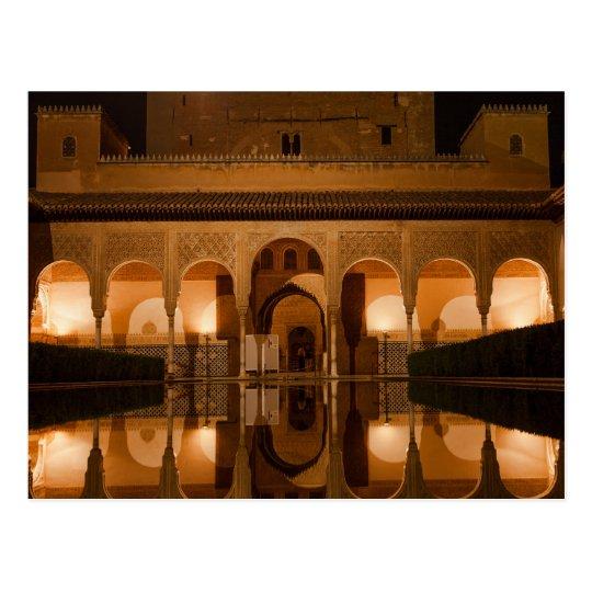 Carte Postale Postcard Nasride Palace, Andalusia Spain