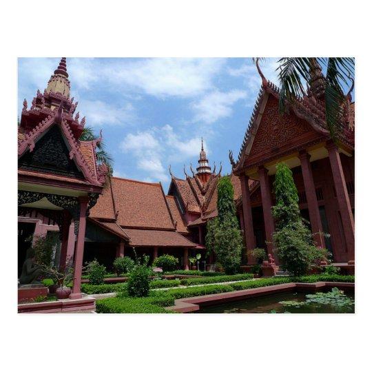 Carte Postale Postcard National Museum of Cambodia in Phnom Penh