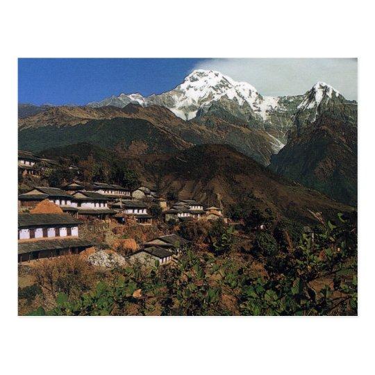 Carte Postale Postcard Nepal Annapurna - Gandrung
