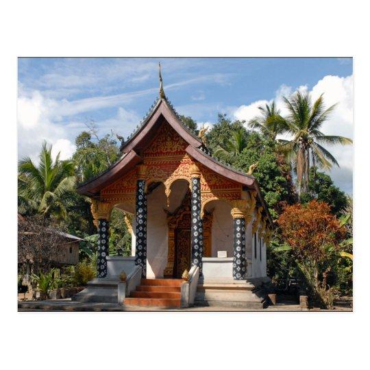Carte Postale Postcard Pagoda in Iao Village, Loas