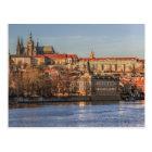 Carte Postale Postcard Panorama of Prague Castle, Czec Republic