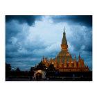 Carte Postale Postcard Pha That Luang, Vientiane, Laos