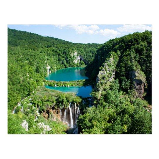 Carte Postale Postcard Plitvice Lakes National Park, Croatia